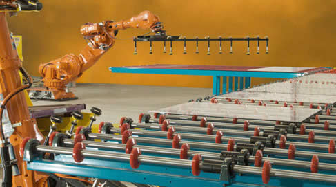 QComp robotic Glass Handling System
