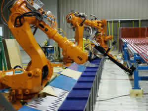 image of QComp Robotic Interleaf Handling Systems