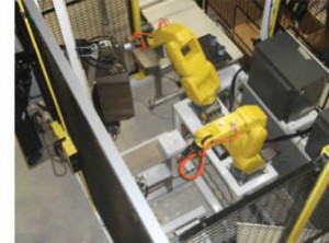 QComp Robotic Assemble, Label, Inspect & Pack applications