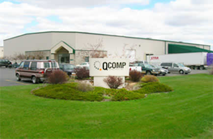 photo of QComp plant in Greenville Wisconsin