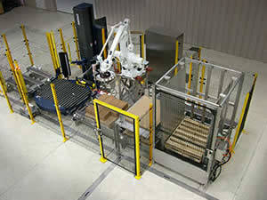 QComp robotic 5G Compact Lean Palletizer photo