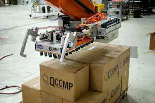 QComp Palletizer gripper photo 2