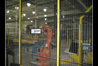 QComp Glass Handling Safety Guard fencing image