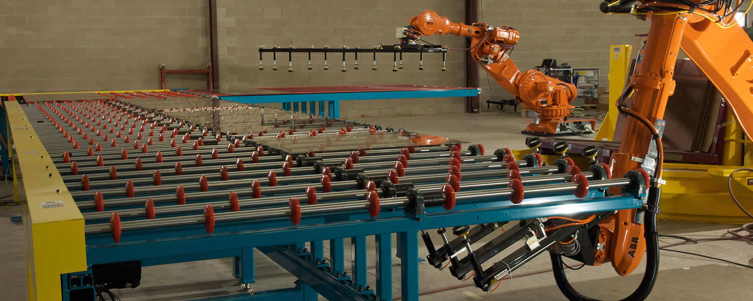 header image of QComp Glass Handling Automation