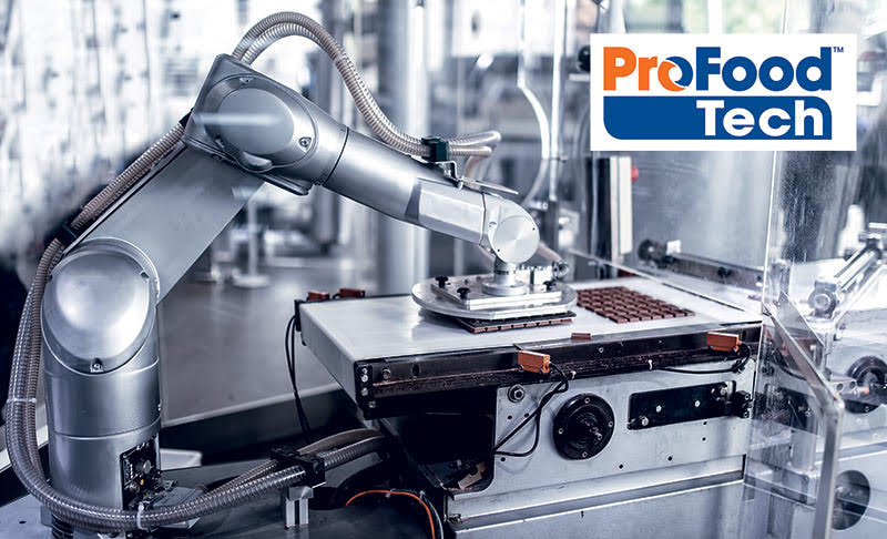 header image of QComp Staubli Robot at ProFood Tech